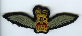 Army Flying Badge for 1st Pilot GPR