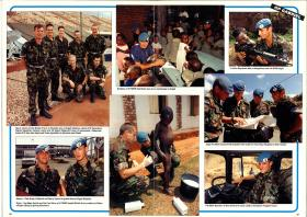 Soldier Magazine feature on airborne forces in Rwanda.