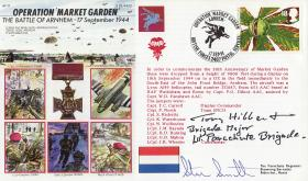 Arnhem Commemorative Cover signed by Tony Hibbert