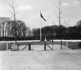 Arnhem Oosterbeek Cemetery, April 1954