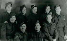 Members of C Company, 2nd Parachute Battalion prior to the Bruneval raid, 1942.