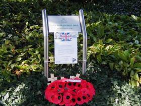 Memorial Baskeyfield Arnhem/Oosterbeek