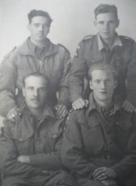 Group photograph, Italy, 1943