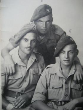Small group photograph, Italy 1943