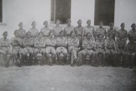 Group photo of 5 Platoon, A Coy, 4 Para, Casse Massema, Italy 1943
