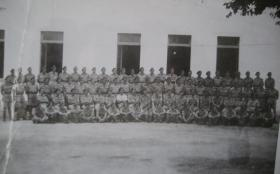 Group photograph of A Coy, 4 Para, Casse Massema, Italy 1943