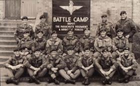 Group photograph of Brecon Battle Camp, 1961