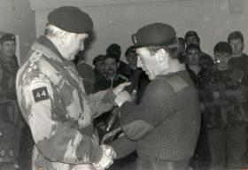Bde Commander, Brigadier Chiswell