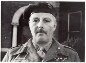 Portrait of Brigadier Hicks