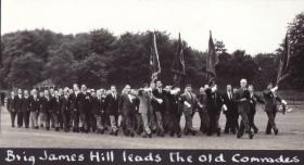 Brigadier Hill leads the Old Comrades