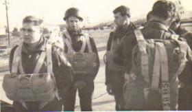 Members of 63 Parachute Squadron RCT on exercise, Cyprus, c1965