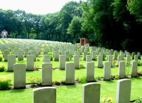 Oosterbeek War Cemetery, Arnhem, Holland, 2009