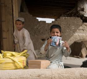 Children in Afghanistan, April 2008