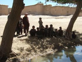 Group of Children in Zabul, Afghanistan June 2008