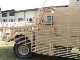 Close-up of Mastiff 1 Front compartment