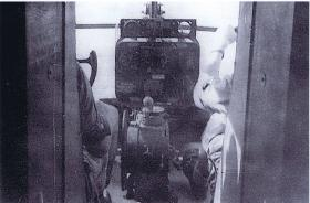 Cockpit controls of a Horsa glider during Exercise Purdy, Palestine