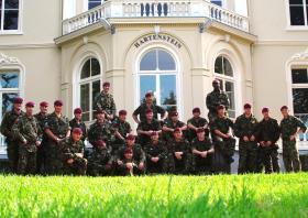 13 Air Assault Support Regiment at the Hartenstein Hotel, Arnhem 09