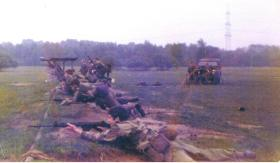 D Coy 3 PARA - Ranges Germany 1977