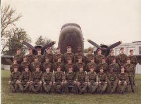 442 Platoon, Aldershot, May 1978.