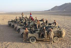 15 AA CS Squadron RV in Helmand, Afghanistan, 2008