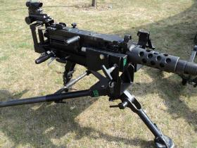 Detail view of Heavy Machine Gun
