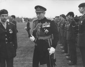 Parachute Squadron RAC Disbandment Parade, February 1976