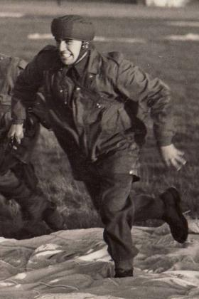 Donald Marsh on a training exercise