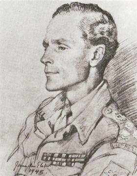 Drawing of Brigadier Hill