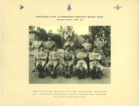 Educational Staff, 16th (Independent) Parachute Brigade Group, Moascar, Egypt, 1954