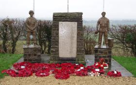 Refurbished Double Hills Memorial, Dec 2009