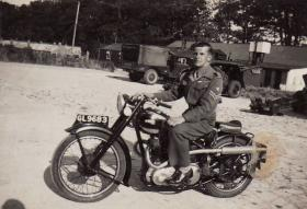 Eric Tripp while with North Somerset Yeomanry, c.1952