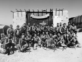 7 Platoon C (Bruneval) Company Fob Gibraltar