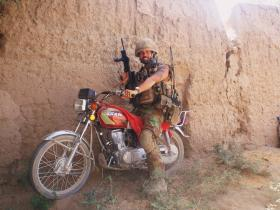 Para of Quick Reaction Force (QRF) from FOB Gilbraltar, Afghanistan, 2008