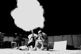 Fire Mission C (Bruneval) Coy, 2 PARA at FOB Gibraltar, Herrick VIII, Afghanistan, 2008