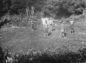 First DZ cleared by Guards Para (98 Patrol) at Long Panga, Sarawak, Borneo, 1964