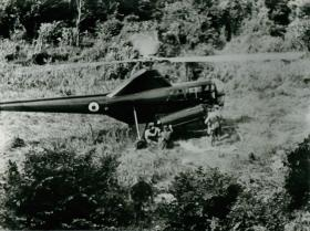 First helicopter casualty evacuation in Malaya.