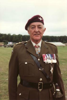 Portrait of Gen Howlett on Para 90, June 1990