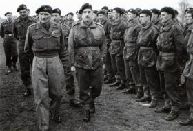 Gen Montgomery visits 133 Para Field Ambulance at Oakham, March 1944