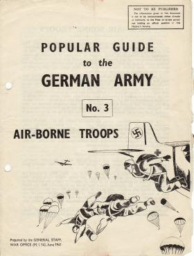 War Office Guide to German Airborne Forces, 1941