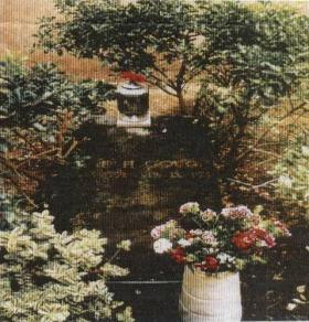 Grave of CFH Gough, Sorrento, 2001