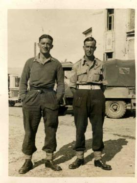 Greece 1944 (Ernie on the right hand side)
