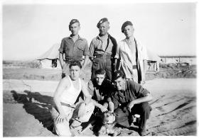 Group photo in camp – Palestine 1946