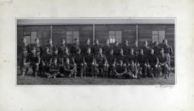 Group Photograph of 2 Platoon, A Company, 13th Parachute Battalion, 1945.