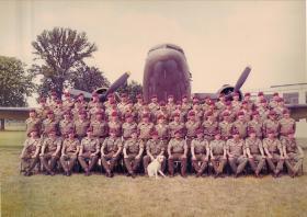 Group photograph of C Coy, 1 PARA, July 1979