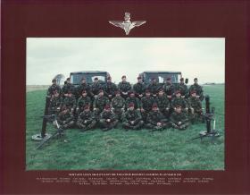 Group photograph of Mortar Pl, 10 PARA, Salisbury Plain, 1992