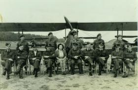 Group photograph of training Glider pilots
