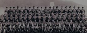 Group photograph of Guards Parachute Company, Hong Kong, 1968