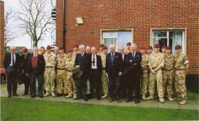 Guards Para Association Visit to 6 (Guards) Platoon, 3 PARA, March 2008