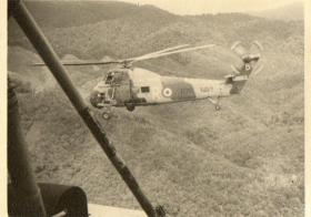 Guards Para onboard Wessex helicopters on way to Patrol Areas, Borneo, 1964