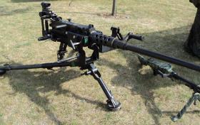 50 Cal Heavy Machine Gun at Colchester, July 2010